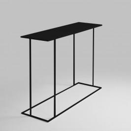 Čierny konzolový stolík Custom Form Walt