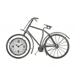 Stolové hodiny v tvare bicykla Mauro Ferretti, 38,5×25 cm