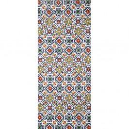 Vysokoodolný behúň Webtappeti Ceramica, 58×240cm