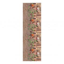 Vysokoodolný koberec Webtappeti Mestoli, 58×115cm