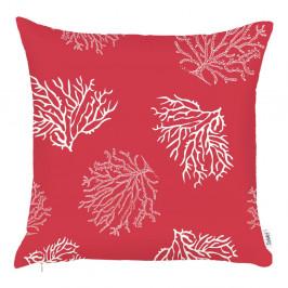 Červená obliečka na vankúš Apolena Hot Coral, 43×43 cm