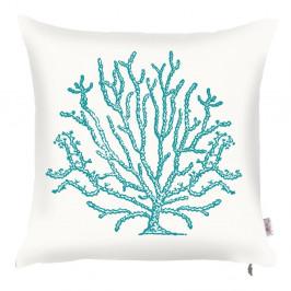 Obliečka na vankúš Apolena Sea Coral Pure, 43×43 cm