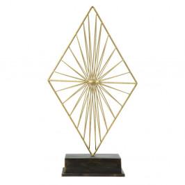 Dekoratívna soška zo železa v zlatej farbe Mauro Ferretti Piry