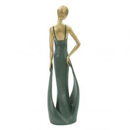 Smaragdovo zelená dekoratívna soška Mauro Ferretti Casino