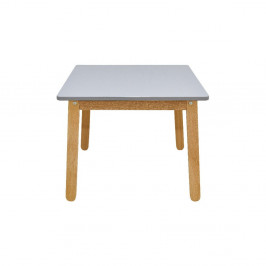Sivý detský stôl BELLAMY Woody