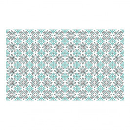 Sada 60 samolepiek v tvare dlaždice Ambiance Paco, 10 x 10 cm