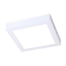 Biele stropné svietidlo s LED svetlom SULION Pluriel Square