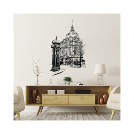 Nástenná samolepka Ambiance Wall Decal Paris the Racecourse, 85 × 60 cm