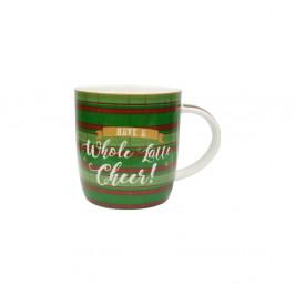 Hrnček z kostného porcelánu Silly Design Have a whole latte cheer, 320 ml