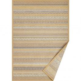 Svetlohnedý vzorovaný obojstranný koberec Narma Ridala, 160×100 cm