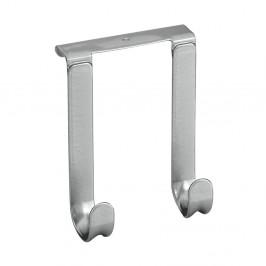 Závesný vešiak na dvere s 2 háčikmi Metaltex, dĺžka 14 cm