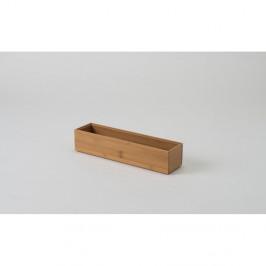 Bambusový organizér Compactor Woody, 30×7,5×6,35cm