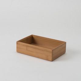 Bambusový box Compactor, 22,5 × 15 × 6,35 cm