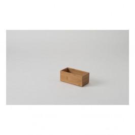 Bambusový box Compactor, 15x7,5x6,35cm