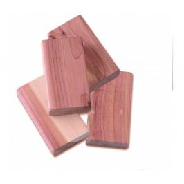 Sada 4 blokov z cédrového dreva do šatníkovej skrine Compactor