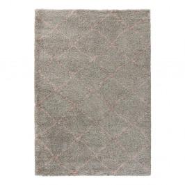 Sivý koberec Mint Rugs Allure Ronno Grey Rose, 160 × 230 cm
