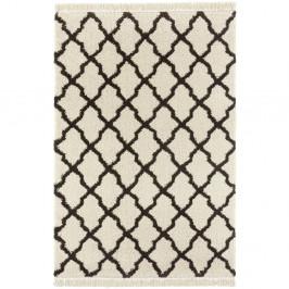 Krémovo-čierny koberec Mint Rugs Marino, 120 x 170 cm
