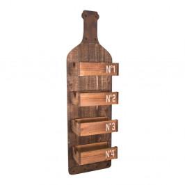 Nástenná drevená polička Antic Line Bo