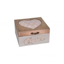 Škatuľka na šitie Antic Line Aime Couture
