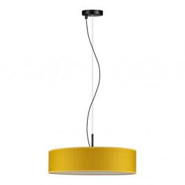 Žlté závesné svietidlo Bulb Attack Doce