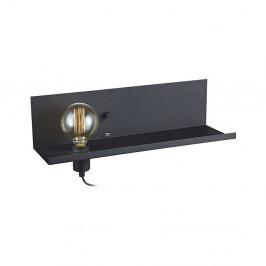 Čierne nástenné svietidlo s USB nabíjacou stanicou Markslöjd Multi