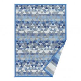 Modrý obojstranný koberec Narma Luke Blue, 140 x 200 cm