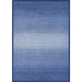 Modrý obojstranný koberec Narma Moka Marine, 70 x 140 cm