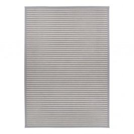 Svetlosivý obojstranný koberec Narma Nehatu Silver, 80 x 250 cm