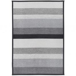 Sivý obojstranný koberec Narma Tidriku Grey, 80×250 cm