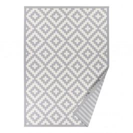 Svetlosivý obojstranný koberec Narma Viki Silver, 100 x 160 cm