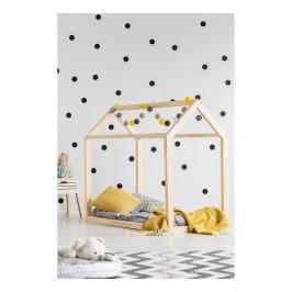 Domčeková posteľ z borovicového dreva Adeko Mila MN, 80 × 180 cm