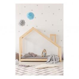 Domčeková posteľ z borovicového dreva Adeko Mila DMS, 140 x 200 cm