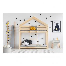 Domčeková palanda z borovicového dreva Adeko Mila DMP, 90 x 180 cm