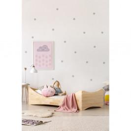 Detská posteľ z borovicového dreva Adeko Mila BOX 3, 80 x 140 cm
