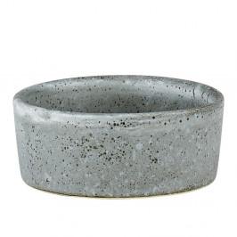 Sivá kameninová miska Bitz Mensa, priemer 7,5 cm