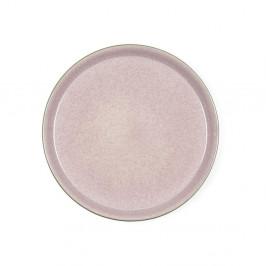 Púdrovoružový kameninový plytký tanier Bitz Mensa, priemer 27 cm