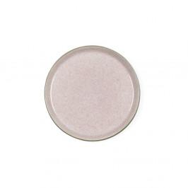 Púdrovoružový kameninový dezertný tanier Bitz Mensa, priemer 21 cm