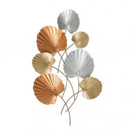 Železná nástenná dekorácia s motívmi listov Mauro Ferretti Tody, výška 96 cm