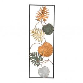 Železná nástenná dekorácia s motívmi listov Mauro Ferretti Loppy Right