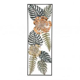 Železná nástenná dekorácia s prírodnými motívmi Mauro Ferretti Too Nature