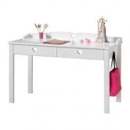Biely stôl Vipack Amori, dĺžka 60 cm