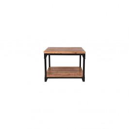 Odkladací stolík s doskou z mangového dreva LABEL51 Sturdy, šírka 60 cm