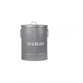 Kovový kôš na špinavé prádlo LABEL51, ⌀ 32 cm