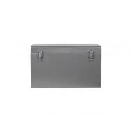 Kovový úložný box LABEL51, dĺžka 40 cm