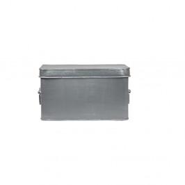 Kovový úložný box LABEL51 Media, šírka 27 cm