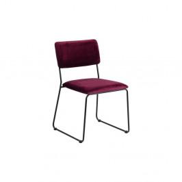 Jedálenská stolička vo farbe bordó Actona Cornelia