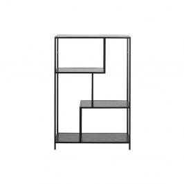 Čierna knižnica Actona Seaford, 114×77 cm