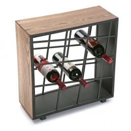 Drevený stojan na víno Versa