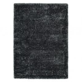 Antracitovosivý koberec Universal Aloe Liso, 200 × 290 cm