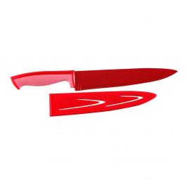 Oceľový nôž v červenej farbe Versa Cuchillo